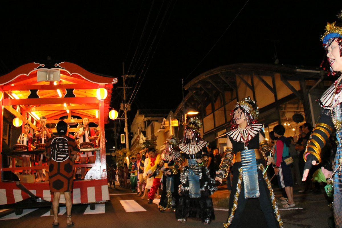 遠刈田温泉仮装盆踊り